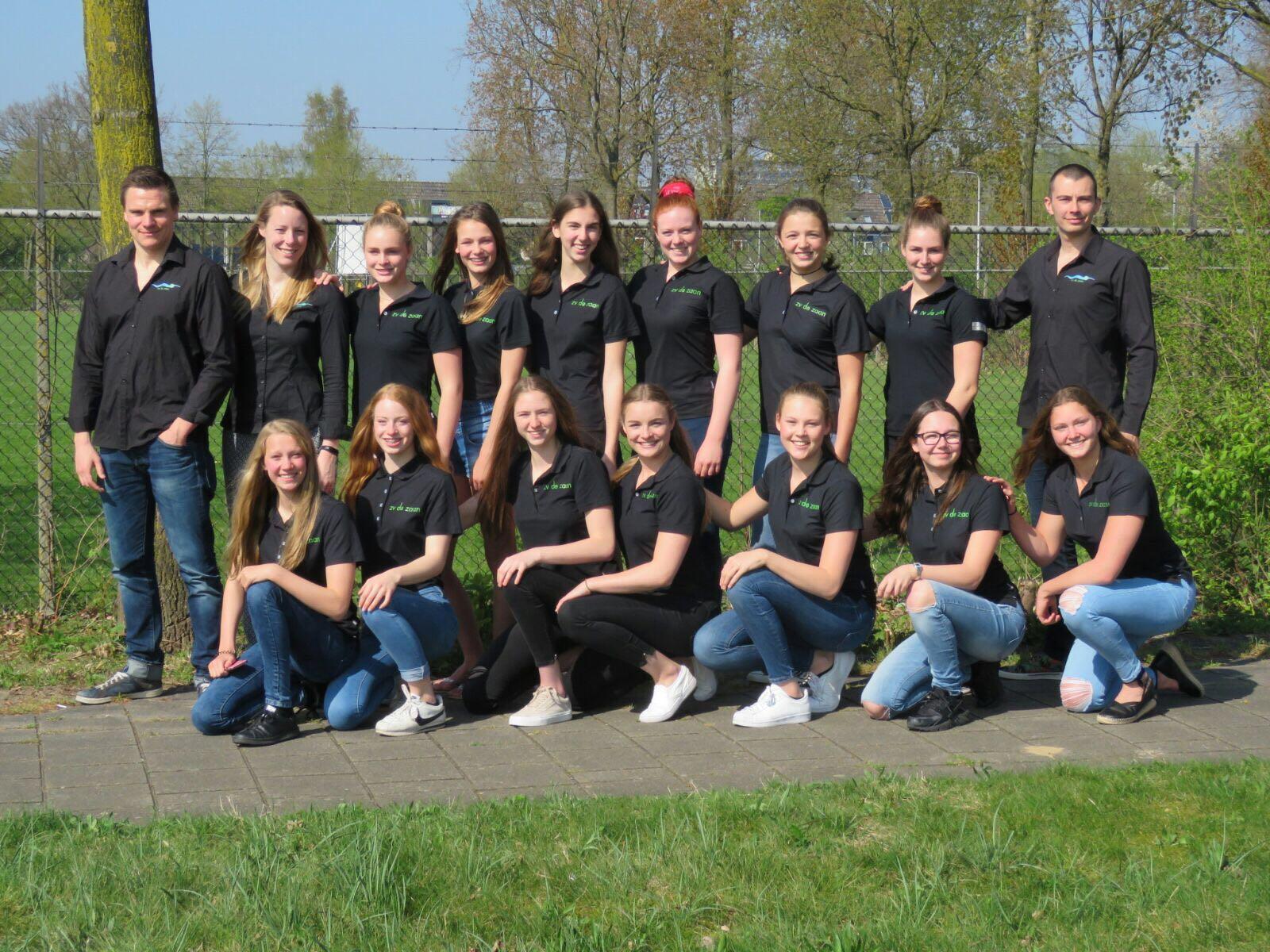 Meisjes De Zaan op 1-0 in strijd om landstitel!