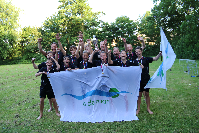 DG ZV De Zaan Nederlands Kampioen!