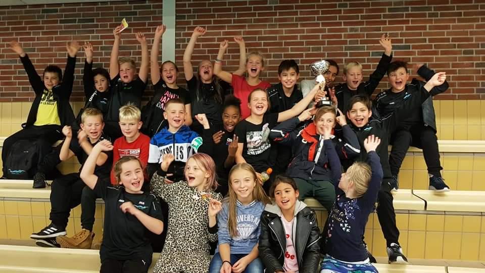 Minioren zv de Zaan winnen Regio Clubmeet met overmacht