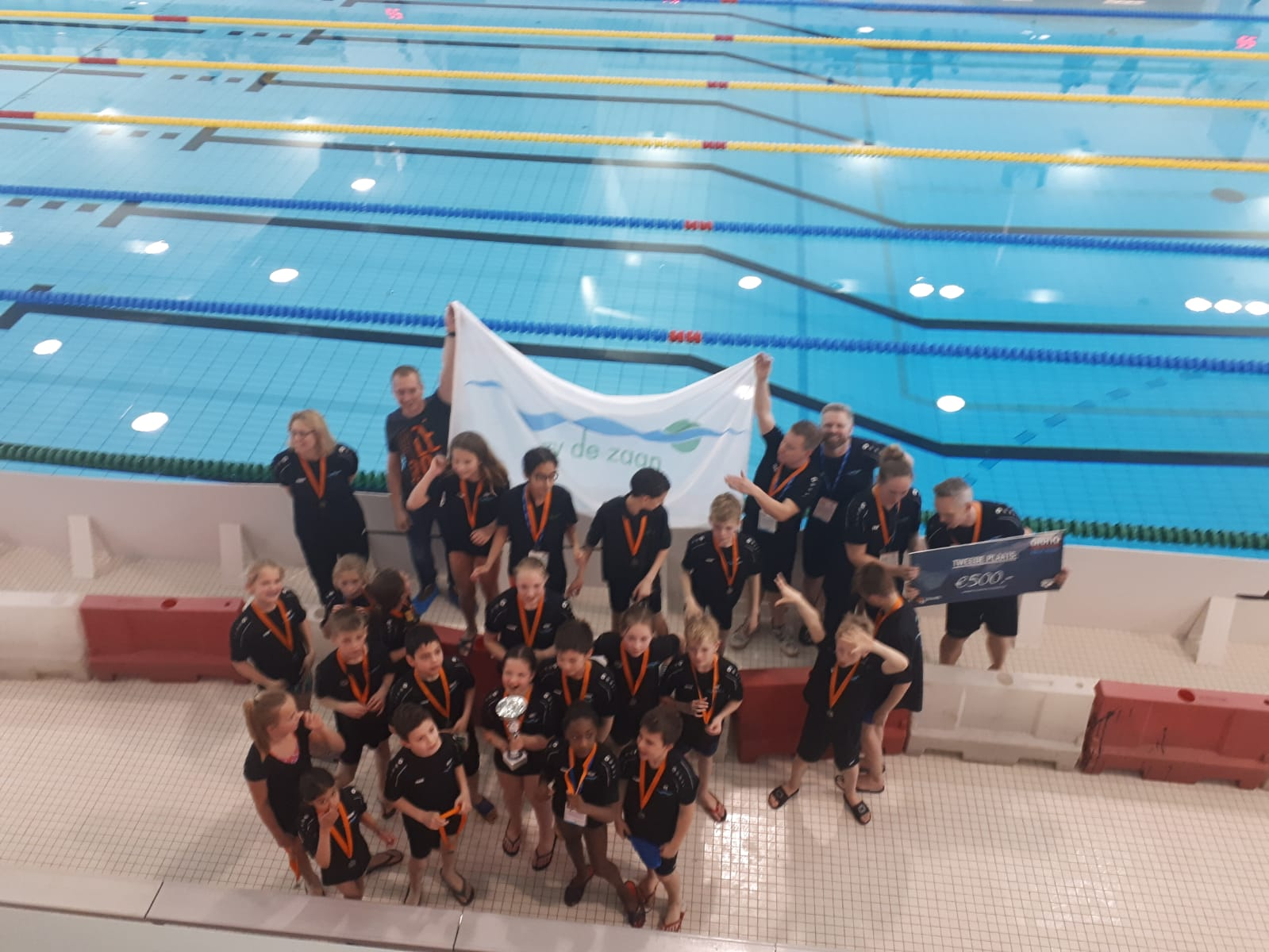 Groot aantal zv de Zaan zwemmers bij top Nederland